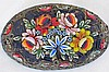 Beautiful Vintage Floral Mosaic Italian Brooch