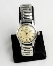 Vintage Hamlin 17 Jewel Stainless Steel Watch