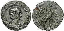 Ancient Roman Salonina Coin