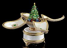 Faberge Inspired Christmas Egg