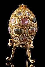 Faberge Inspired Jeweled Egg