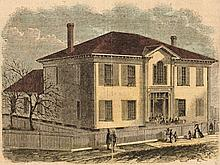 Freeman's School House, Atlanta Harper's Weekly