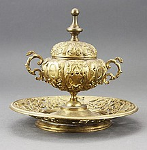 Continental Inkwell Late 19th Century
