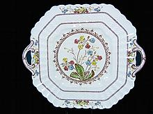 Copeland Spode Cowslip Handled Cake / Cookie Plate