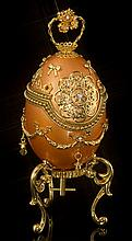 Faberge Inspired Royal Golden Egg