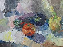 Still Life Palette Knife Oil Painting