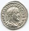 Roman Imperial AR Denarius Maximinus I