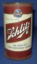 Schlitz Steel Beer Can