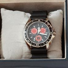 NAUTICA s/s watch Japan Mvmt rubber strap Water resistant