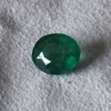 2.90 ct Genuine Colombian Emerald Natural oval faceted 10.3mm x 8.5mm x 5.5mm