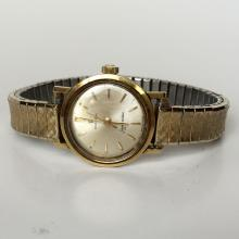Vintage ladies OMEGA SEAMASTED DE... Swiss made round watch with stretchable bracelet