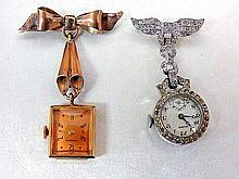 Monarch and Hilbros. Ladies Pendant Watch