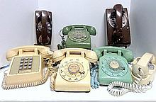 Grouping of Vintage Phones