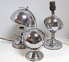 Art Deco Chrome Lamps and Other