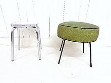 Group Two Mid-Century Stools
