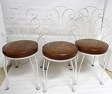 Three 1960's Kitchenette Chairs