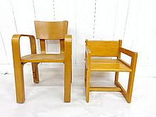 1940's Bentwood Child's Chair
