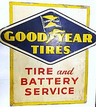Goodyear Tires Tin Sign
