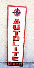 AutoLite Battery Tin Sign