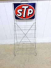 Vintage STP Display Rack