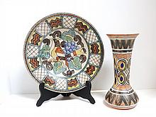 English/German Deco Art Pottery