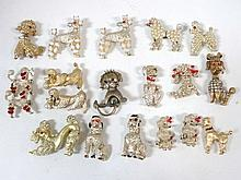 Large Lot Dog Pins