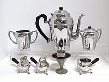 Art Deco Coffee Set and Lighters