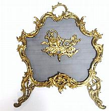 Gold Victorian Screen
