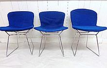 Three Harry Bertoia Knoll Chairs