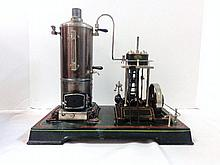 Doll 352/3 Vertical Marine Type Steam Engine Toy with Original Box