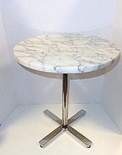 Marble Top Knoll Table