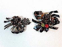Sterling Hobe Brooches