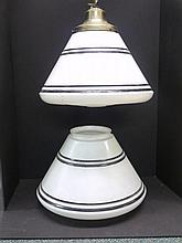 Pair of Art  Deco Industrial Style Lights