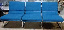 Blue Knoll Sofa