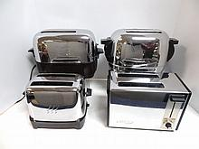 Four Chrome Toasters