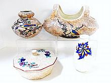 August Dubois Belgium Art Pottery