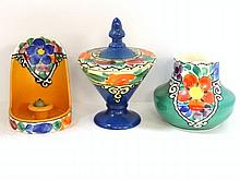 Ditmar Urbach Czech Hand Paint Group of Three