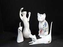 Tiffany, Royal Doulton, Royal Dux Cats