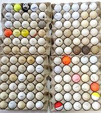 Large Collection Vintage Golf Balls