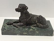 Bronze Statue of Dog