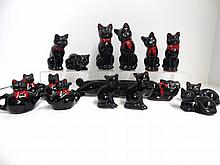 Shafford Black cat Salt & Peppers