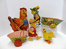 Chein & Fisher Price Rabbits & Chickens