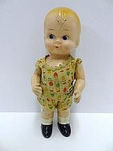 American Composition Body Twist Doll by Amberg with Original Labeled Costume
