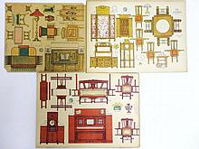 Universal Paper Dollhouse Furniture