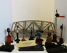 Lot of Vintage Lionel/Marx/Ives O and Standard Gauge Accessories and 1121 Lionel Switches