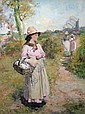 Follower of Frank Bramley RA 1857-1915-