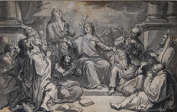 Flemish School, 17th/18th century- Religious