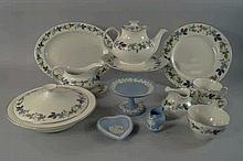 A Royal Doulton porcelain part dinner tea service,