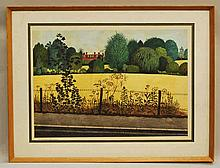 Kenneth Barden, British 1924-1988- In Chipstead Va