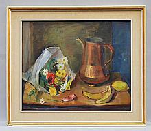 Leo Spaventa Filippi, Italian 1912-1999- Floral st